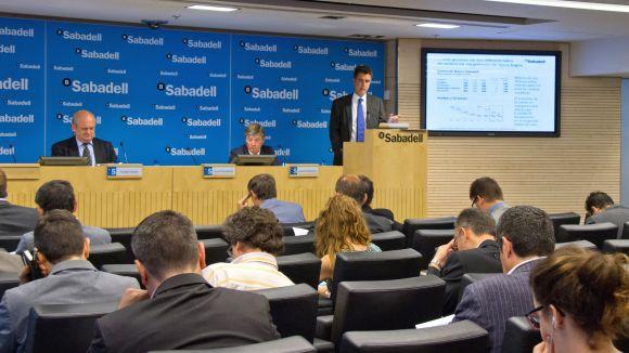 Banc Sabadell guanya 123,4 milions d'euros en el segon trimestre